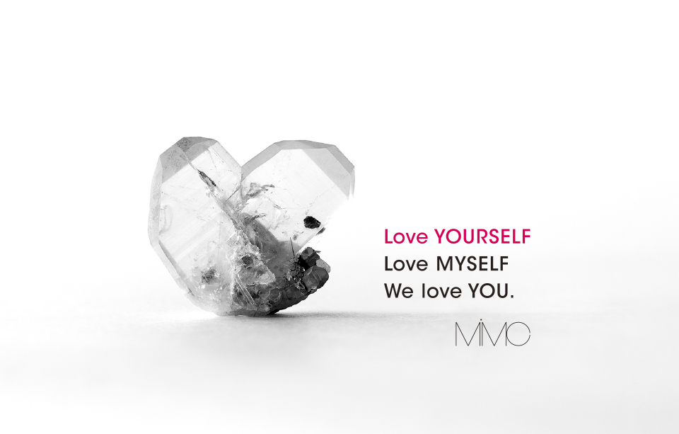 Love YOURSELF Love MYSELF We love YOU.